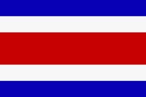 флаг коста рика фото