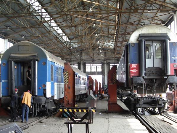 с поезда Москва-Варшава.
